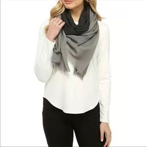 Eileen Fisher  organic ombre  scarf one size NWT